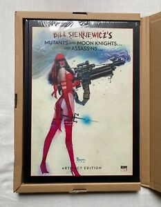 MUTANTS & MOON KNIGHTS ARTIFACT EDITION SIGNED BILL SIENKIEWICZ NEW SEALED+BOXED
