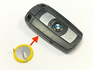 RFC rechargeable battery for BMW 5 Series E60 E61 3 button remote key fob