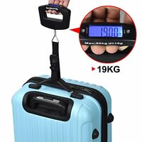 50KG Digital Travel Portable Handheld Weighing Luggage Scales Suitcase Bag SK