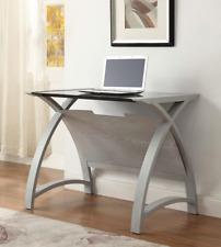 Jual Furnishings Helsinki Grey Laptop Computer Desk / Table  PC201-900 90cm