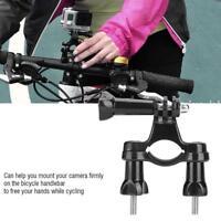 Bicycle Handlebar Action Camera Holder Bracket Bike Grip Mount for Gopro Camera