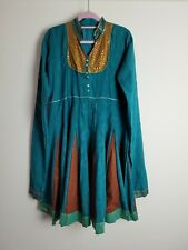 Indian Kurta Size Small Dress Style with Sequin Neckline