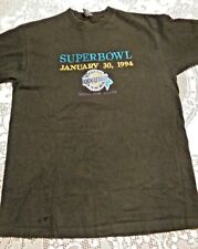 Vintage 1994 Super Bowl Collectible Embroidered Tee Shirt
