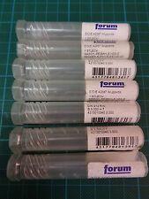 7 x FORUM Maschinenreibahle DIN212 R-N; Ø3,00; H7; HSS-E; NEU & OVP