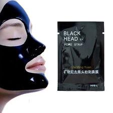 10pcs Pilaten Black Mud Mask Tearing Syle Deep Cleanse Acne Blackhead RemoverXU