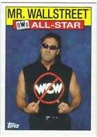 2016 Topps WWE Heritage Wrestling WCW/nWo All-Stars #8 Mr. Wallstreet - nWo
