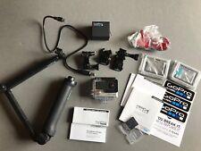 GoPro HD Hero4 Silver w/ Dual Battery Charger,  16GB MicroSD & 3-Way Mount