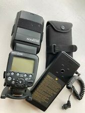 Canon 600EX-RT Speed Light Shoe Mount Flash w/Battery Pack From Japan