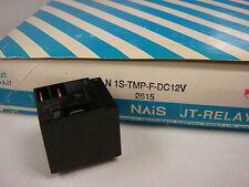 (1) JTN1S-TMP-F-DC12V NAIS HIGH CAPACITY POWER RELAY 12VDC 20A 277V SPDT PLUG-IN