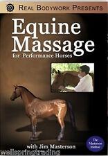 Equine Massage Video - Horse Massage DVD, Masterson Method: 75 Minutes