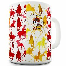Twisted Envy Spain Polo Collage Ceramic Mug