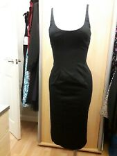 Ladies Navy Fitted Strappy Pencil Dress, Size 8, OASIS