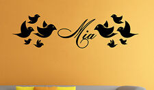 Personalized Name Wall Decal Custom Family Name Vinyl Sticker Wall Art Decor 13