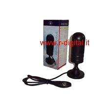 ANTENNA DVB-T AMPLIFICATA  LINQ  UHF 30 dB DIGITALE TERRESTRE BASE MAGNETICA