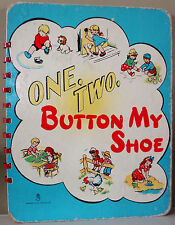 One, Two, Button My Shoe 1949 HC - Rare