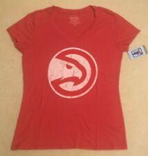 NEW NBA Atlanta Hawks Basketball T Shirt Women Ladies 2X 2XL Tri Blend NWT