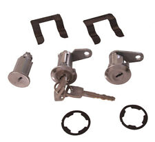 NEW 1967-1969 Ford Mustang Lock set doors & Ignition Matched set, Keys, Clips