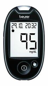 beurer GL 44 Messgerät mg/dl + 10-210 Teststreifen - OVP vom med.Fachhändler