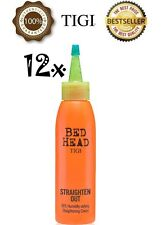 12 x TIGI BED HEAD STRAIGHTEN OUT 98% HUMIDITY-DEFYING STRAIGHTENING CREAM 120ml