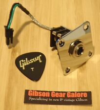 Gibson Les Paul Jack Input Quick Connect HP Standard 1/4 Inch Guitar Parts Metal