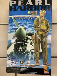 """1/6 Dragon WWII Action Figure Pearl Harbor Pilot """"George Taylor"""" 1:6"""