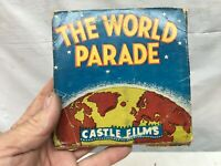 Vintage 1940s Castle Film The World Parade New England Holiday 8mm Film on reel