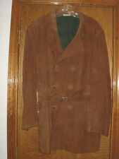 Men's Vintage C.O. Ericson of Sweden Goatskin Suede Trench Coat Size 44