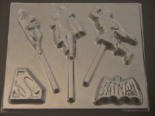 40AI CAPT AMERICA,BATMAN,SUPERMAN  Silicone Mould Cake Icing Decoration toppers