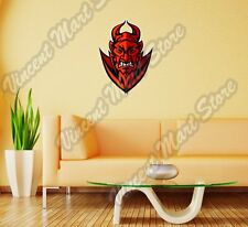 "Satan Devil Lucifer Demon Evil Hell Wall Sticker Room Interior Decor 18""X25"""