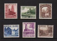 Norfolk Island - #13-18 mint, cat. $ 41.65