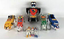 Voltron 5 Piece Lion World Events Figure Red Blue Yellow Green Vintage 1984