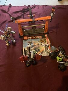 LEGO Exo-Force 7705 Gate Assault (Original Box Not Included)