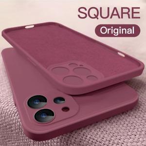 Liquid Silicone Case For iPhone 12 13 Pro Max 11 XR XS X 6s 7 8 Plus SE 2 Cover