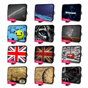8-17 Inch Laptop Case Sleeve For Macbook Lenovo HP DELL Microsoft Tablet Bag UK