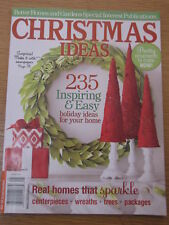 Better Homes and Gardens Christmas Ideas 2012 Magazine Gifts Recipes Decorations