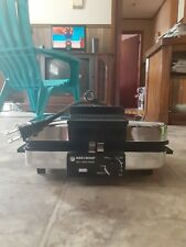 Black+Decker G48Td 3-in-1 Waffle Maker. In used but great condition.