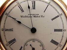 Waltham Royal Model 1888 Hunters Hunting Gold Filled Victorian Pocket Watch
