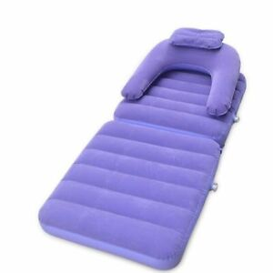 Fast Inflatable Air Sofa Camping Multi-Functional Lazy Lay Sleeping Bag Lounger