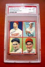 1935 Goudey 4-IN-1 #5-D Grimes/Klein/Cuyler/English Baseball Card ~ PSA 4.5