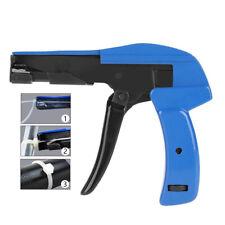 Large Cable Tie Gun Fastening Tool Die Cast Steel Flush Cut Point Zip Tie Gun