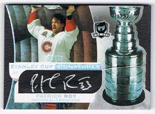 2008-09 The Cup Stanley Cup Signatures Autograph #SCS-PR Patrick Roy 39/50