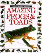 Amazing Frogs and Toads (Eyewitness Junior) Barry Clarke, Jerry Young Paperback