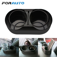 Dual Hole Car Cup Holder Drink Water Bottle Beverage Holders Self Adhesive
