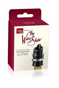 Vacu Vin The Wine Show Champagne Saver Black
