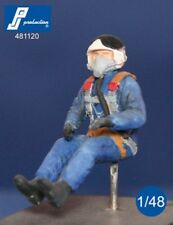 1/48 PJ PRODUCTION RUSSIAN PILOT SEATED IN AIRCRAFT (80-90s)