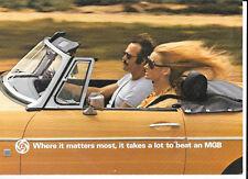 MG MGB BROCHURE DI VENDITA PER IL 1977 SETTEMBRE 1976 ANNO del modello