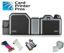 Fargo HDP5000 Dual Side ID Card Printer w/ Lamination & Package 100-Day warranty