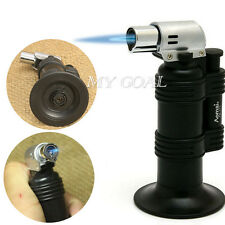 Windproof Welding Torch Cigarette Lighter Jet Flame Refillable Butane Gas DA