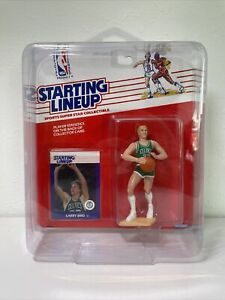 1988 Larry Bird Starting Lineup SLU Figure Celtics *Rookie-w/Dome-NM* 🏀🚨