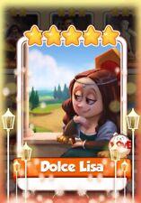 Coin Master cards carte rare Alta Dolce Lisa